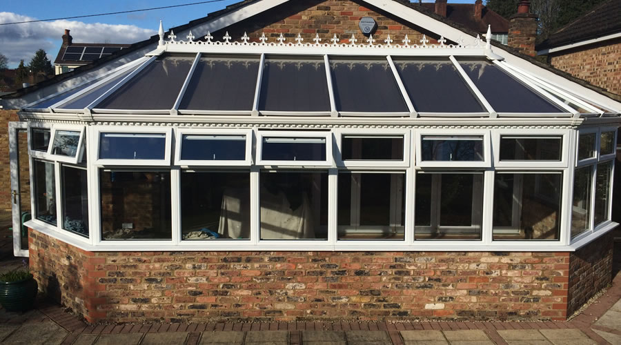 Heat reduction conservatory glazing in Oxford