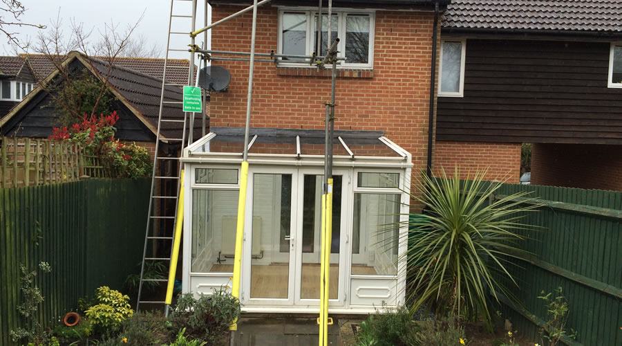Oxford Conservatory Roof Glazing Repair
