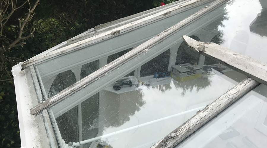 Conservatory Renovation Gerrards Cross (Before 2)