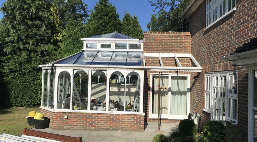 Conservatory Renovation Gerrards Cross (during 4)