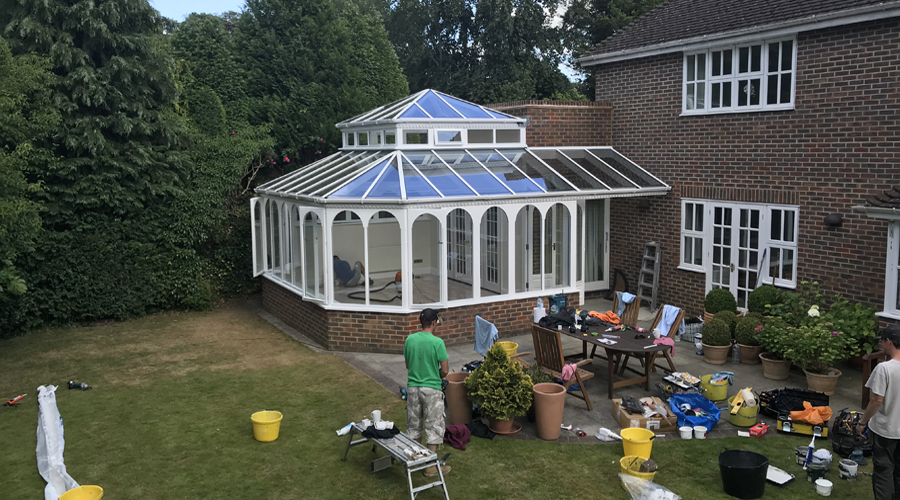 Conservatory Renovation Gerrards Cross (after 6)