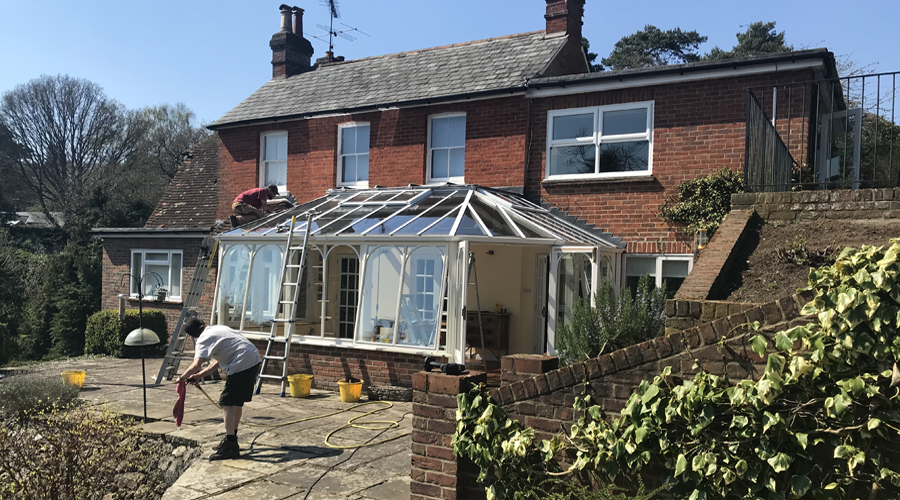 Glass Conservatory Roof Replacement Farnham
