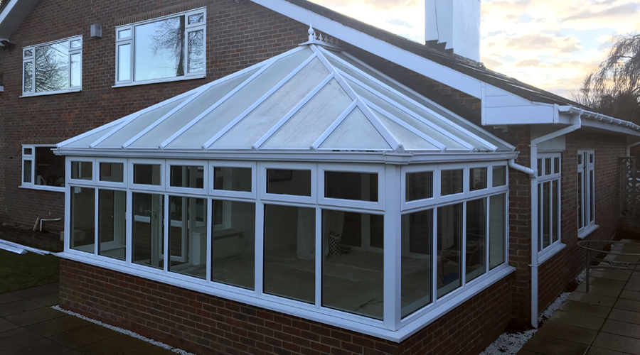 Maidenhead Conservatory Roof Glass (before 2)