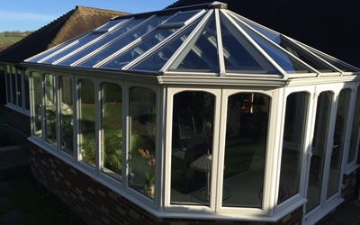 Replacemnet conservatory glazed units in Oxford